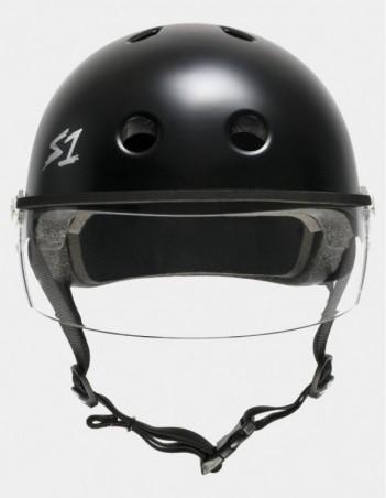 S-One Lifer Visor Helmet Black Matte. - Safety Helmet - Miniature Photo 2