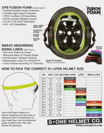 S-One Lifer Visor Helmet Purple Matte. - Safety Helmet - Miniature Photo 1