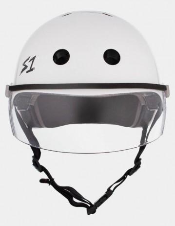 S-One Lifer Visor Helmet White Gloss. - Product Photo 2