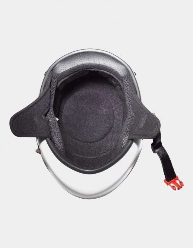 Triple Eight Racer Downhill Longboard Helmet White. - Safety Helmet  - Cover Photo 2