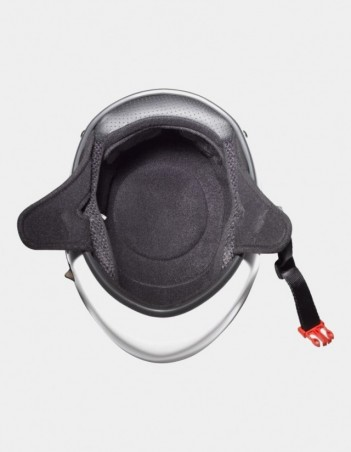 Triple Eight Racer Downhill Longboard Helmet White. - Safety Helmet - Miniature Photo 2