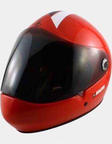Triple Eight Racer Downhill Longboard Helmet Red. - Product Photo 1