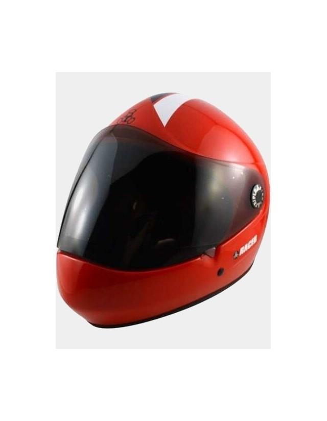 Triple Eight Racer Downhill Longboard Helmet Red. - Safety Helmet  - Cover Photo 1