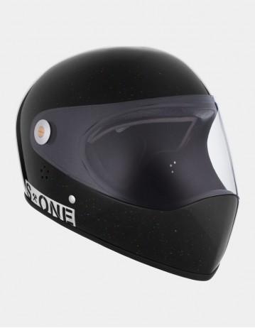 S-One Lifer Fullface Glitter Helmet Black. - Product Photo 1