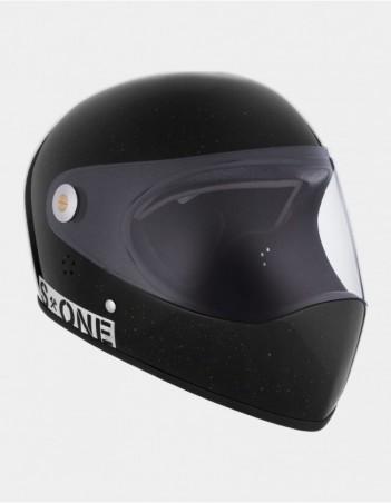 S-One Lifer Fullface Glitter Helmet Black. - Safety Helmet - Miniature Photo 2