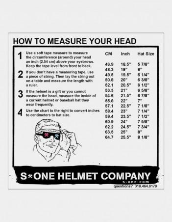 S-One Lifer Fullface Glitter Helmet Grey. - Safety Helmet - Miniature Photo 1