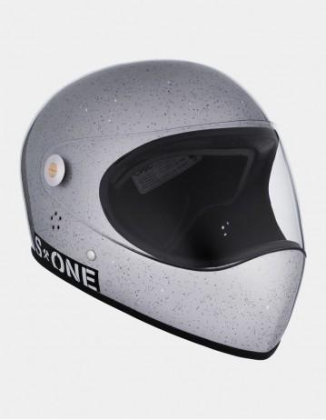S-One Lifer Fullface Glitter Helmet Grey. - Product Photo 1
