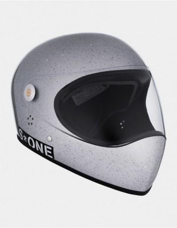 S-One Lifer Fullface Glitter Helmet Grey. - Safety Helmet - Miniature Photo 2