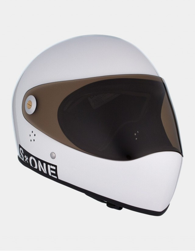 S-One Lifer Fullface Helmet White. - Safety Helmet  - Cover Photo 2