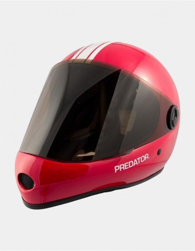Predator Dh-6 Skate Helmet Red. - Safety Helmet  - Cover Photo 1