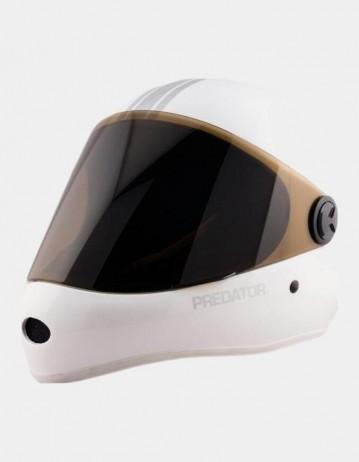 Predator Dh-6 Skate Helmet White. - Product Photo 1