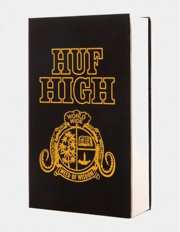 Huf Huf High Book Stash - Black - Product Photo 1