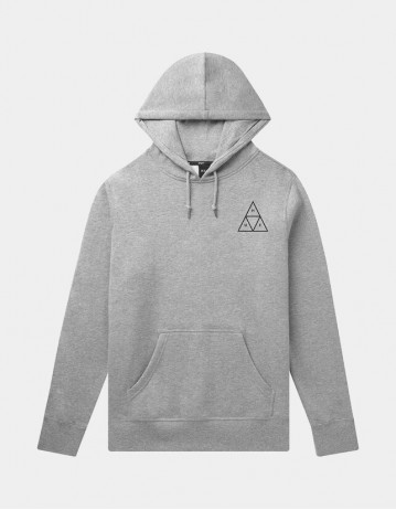 Huf Essentials Tt P/O Hoodie - Athletic Heather - Product Photo 1