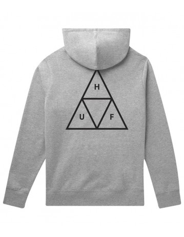 Huf Essentials Tt P/O Hoodie - Athletic Heather - Product Photo 2