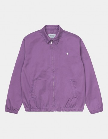 Carhartt Wip Madison Jacket Aster / Wax Rinsed. - Product Photo 1