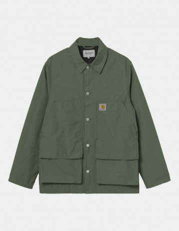 Carhartt Wip Montana Jacket Dollar Green Rinsed. - Product Photo 1