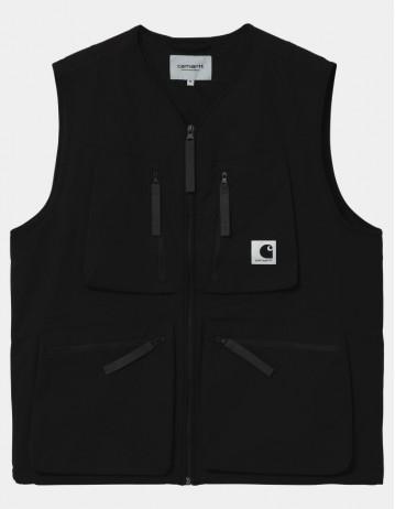 Carhartt Wip Hurst Vest Black. - Product Photo 1