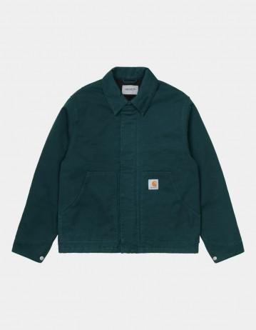 Carhartt Wip Arcan Jacket Deep Lagoon Garment Dyed. - Product Photo 1