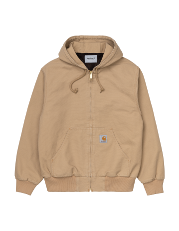 Carhartt Wip Active Jacket (Summer) Dusty H Brown Rinsed. - Product Photo 2