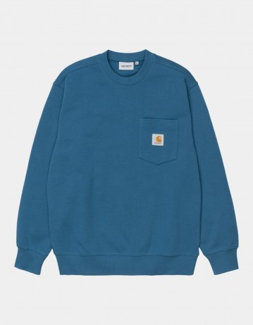 Carhartt Wip Pocket Sweatshirt Shore. - Product Photo 1