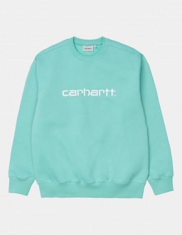 Carhartt Wip Carhartt Sweat Bondi / White. - Product Photo 1