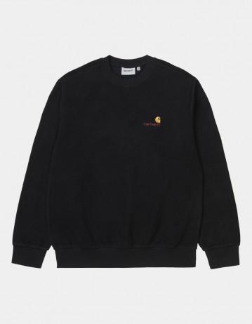 Carhartt Wip Contra Sweatshirt Black. - Product Photo 1
