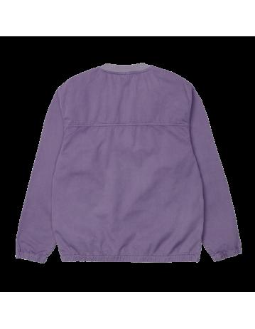 Carhartt Wip Carson Sweatshirt Provence Stone Washed. - Product Photo 2