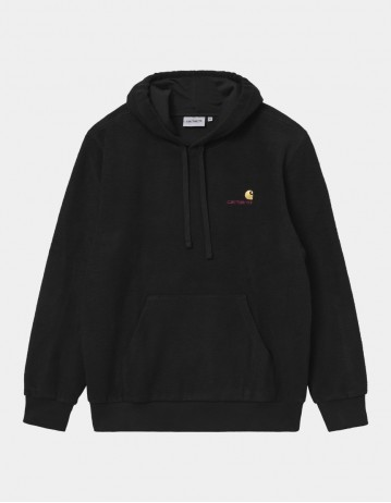 Carhartt Wip Hooded Contra Sweatshirt Black. - Product Photo 1
