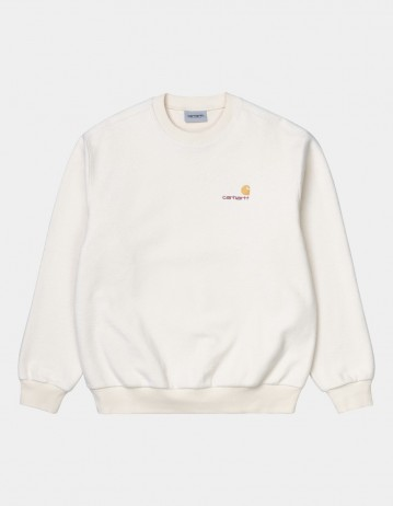 Carhartt Wip Contra Sweatshirt Natural. - Product Photo 1