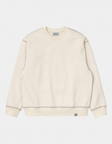 Carhartt Wip Nebraska Sweatshirt Natural / Black. - Product Photo 1