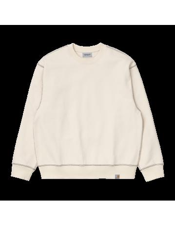Carhartt Wip Nebraska Sweatshirt Natural / Black. - Product Photo 2