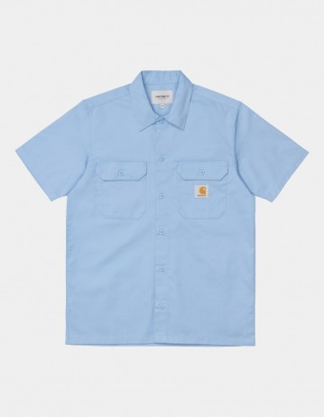 Carhartt Wip S/S Master Shirt Wave. - Product Photo 1