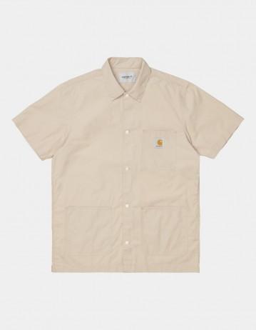 Carhartt Wip S/S Creek Shirt Wall. - Product Photo 1