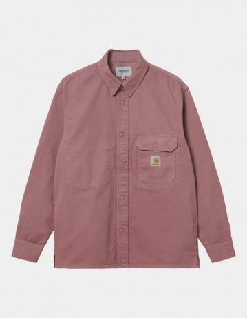 Carhartt Wip Reno Shirt Jac Malaga Garment Dyed. - Product Photo 1