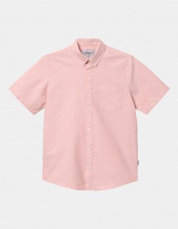 Carhartt Wip S/S Button Down Pocket Shirt Melba. - Product Photo 1