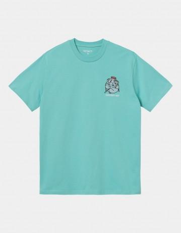 Carhartt Wip S/S Ill World T-Shirt Bondi. - Product Photo 1