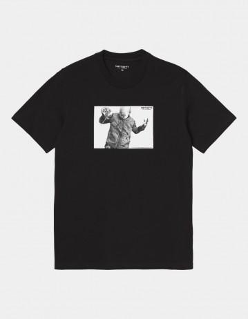 Carhartt Wip S/S Shohei T-Shirt Black. - Product Photo 1