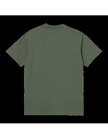 Carhartt Wip S/S Plant Script T-Shirt Dollar Green. - Product Photo 2