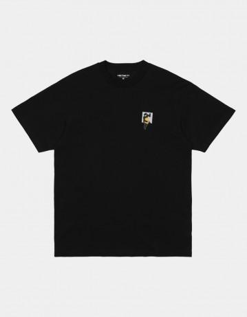 Carhartt Wip S/S Teef T-Shirt Black. - Product Photo 1