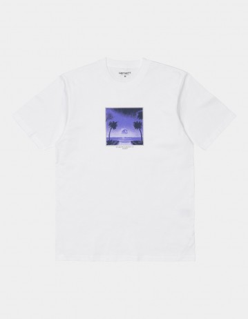 Carhartt Wip S/S Tropical T-Shirt White. - Product Photo 1