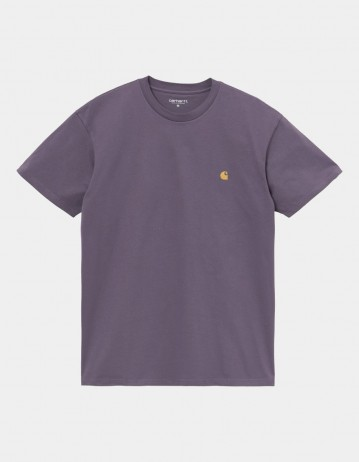 Carhartt Wip S/S Chase T-Shirt Provence / Gold. - Product Photo 1