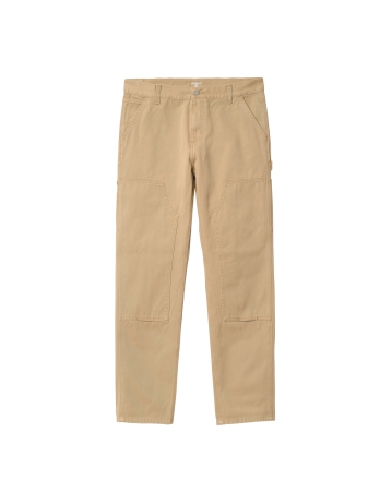 Carhartt Wip Ruck Double Knee Pant Dusty H Brown Stone Washed. - Product Photo 2