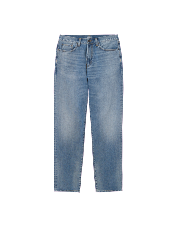 Carhartt Wip Pontiac Pant Blue Worn Bleached. - Product Photo 2