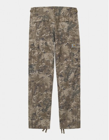 Carhartt Wip Aviation Pant Camo Combi, Desert Rinsed. - Product Photo 1