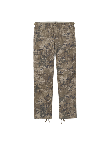 Carhartt Wip Aviation Pant Camo Combi, Desert Rinsed. - Product Photo 2