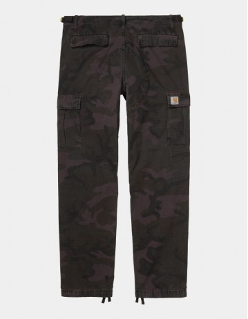 Carhartt Wip Aviation Pant Camo Provence Rinsed. - Product Photo 1