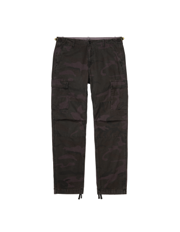 Carhartt Wip Aviation Pant Camo Provence Rinsed. - Product Photo 2