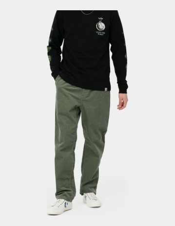 Carhartt Wip Flint Pant Dollar Green Rinsed. - Product Photo 1