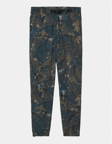 Carhartt Wip Terra Pant Satellite Print, Deep Lagoon / Reflective. - Product Photo 1