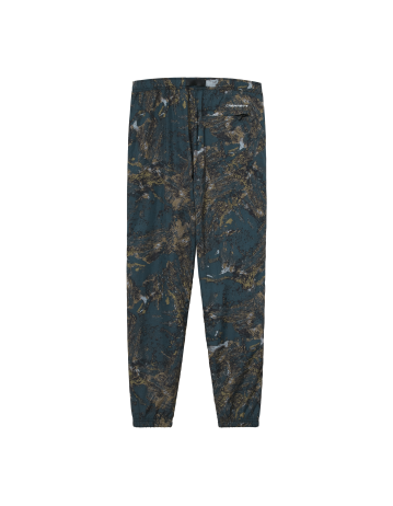 Carhartt Wip Terra Pant Satellite Print, Deep Lagoon / Reflective. - Product Photo 2